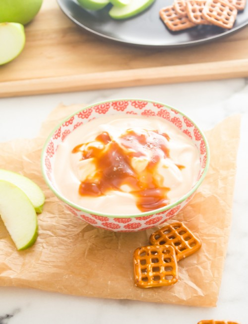 salted-caramel-greek-yogurt-dip2 | flavorthemoments.com