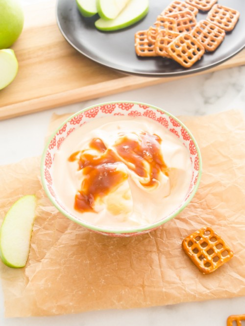 salted-caramel-greek-yogurt-dip4 | flavorthemoments.com