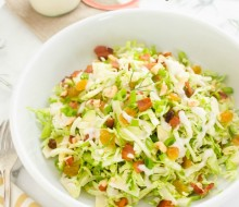 shaved-brussels-sprout-salad-with-apples-bacon-and-hazelnuts1 | flavorthemoments.com