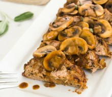 wild-mushroom-sage-turkey-meatloaf flavorthemoments.com