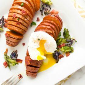 hasselback-sweet-potatoes-3-ways1 | flavorthemoments.com