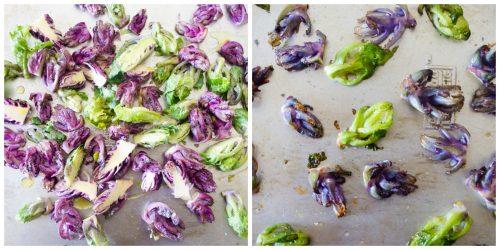 roasted kalettes | flavorthemoments