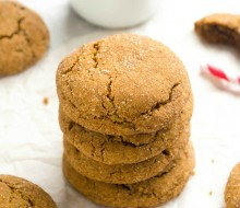 spicy-espresso-gingersnap-cookies1 | flavorthemoments.com