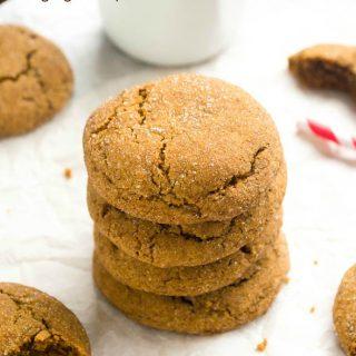 Spicy Espresso Gingersnap Cookies
