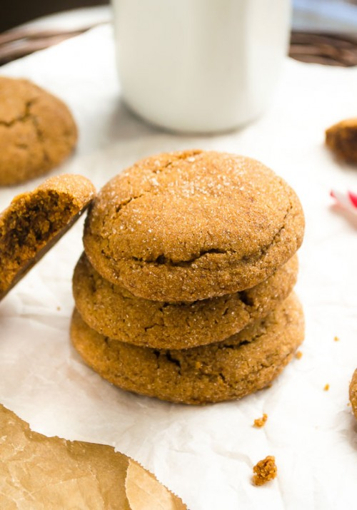 spicy-espresso-gingersnap-cookies2 | flavorthemoments.com