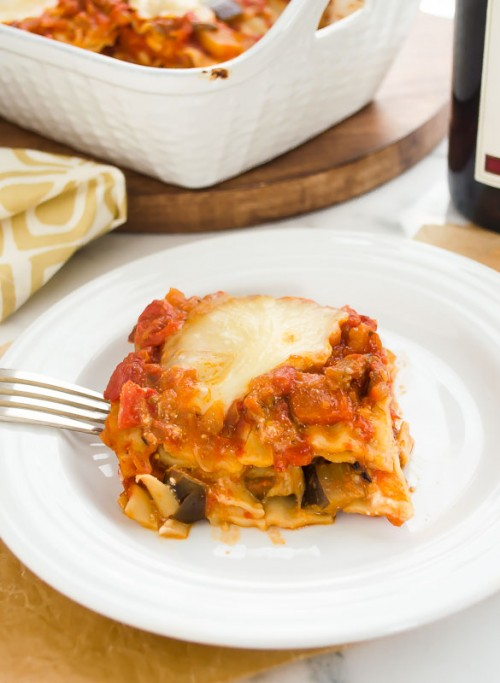 vegetarian lasagna with eggplant ragu4 | flavorthemoments.com