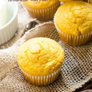 Butternut Squash Cornbread Muffins