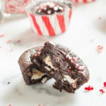 peppermint patty brownie cupcakes1 | flavorthemoments.com