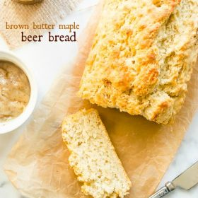 brown-butter-maple-beer-bread1 | flavorthemoments.com