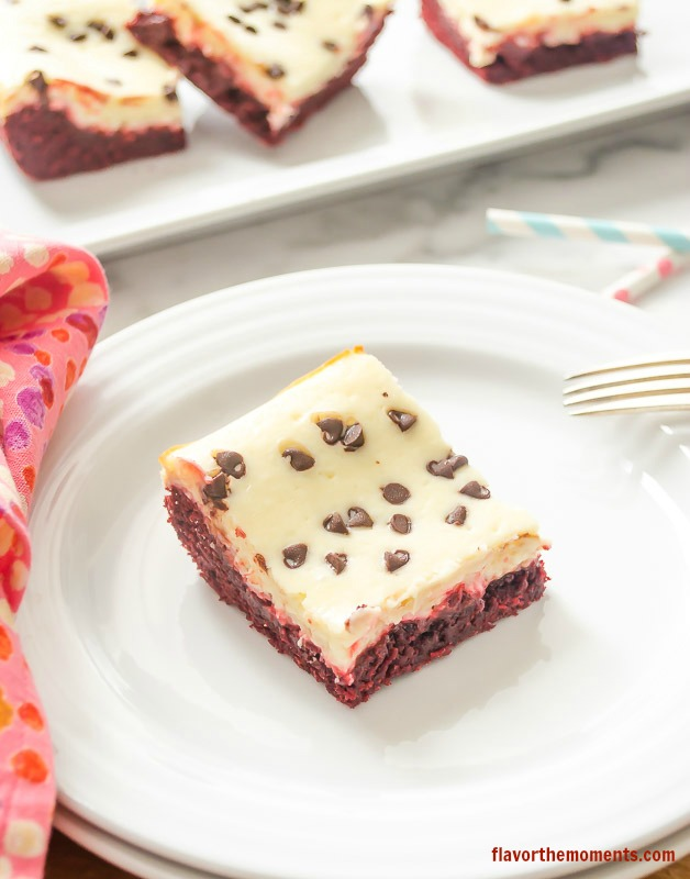 red-velvet-cheesecake-cookie-bars2 | flavorthemoments.com ...