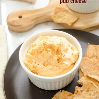 Spicy Cheddar Pub Cheese