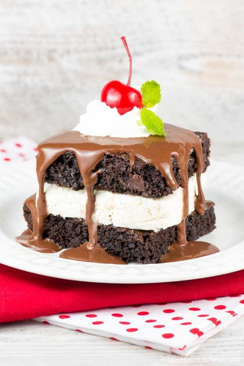 Ghirardelli-Dark-Chocolate-Hot-Fudge-Sundae-Brownie-04-Inspiration-Kitchen
