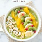 green-coconut-kiwi-banana-smoothie-bowl1 | flavorthemoments.com