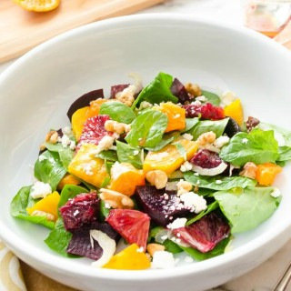 roasted-beet-citrus-salad-with-blood-orange-vinaigrette | flavorthemoments.com