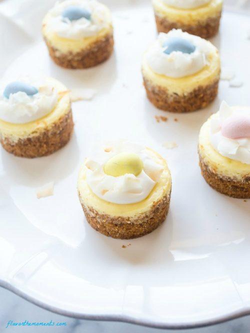 mini-coconut-cream-cheesecakes1 | flavorthemoments.com