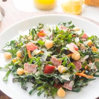 italian-kale-chopped-salad1 | flavorthemoments.com