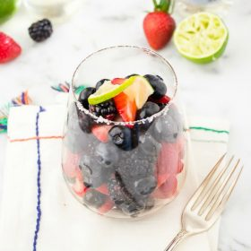 margarita-fruit-salad-with-tequila-lime-simple-syrup1 | flavorthemoments.com