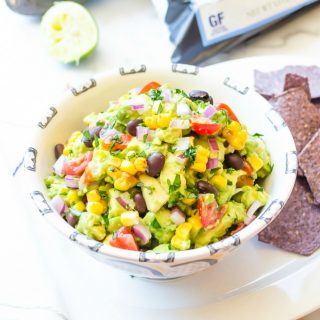 street-corn-black-bean-guacamole1 | flavorthemoments.com