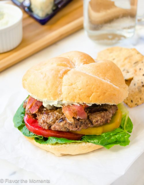 blt-burger-with-whipped-blue-cheese3   flavorthemoments.com