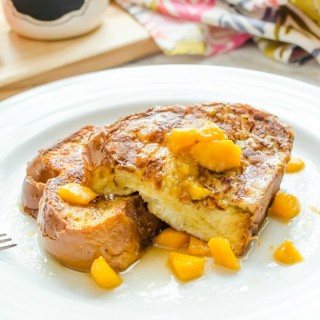 stuffed-french-toast-with-peach-bourbon-maple-syrup1 | flavorthemoments.com