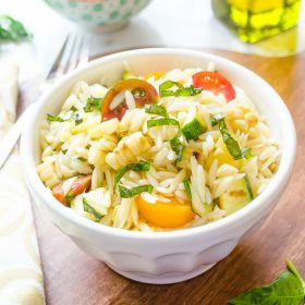 summer-vegetable-orzo-pasta-salad1 | flavorthemoments.com