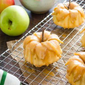 caramel-apple pound cakelettes   flavorthemoments.com