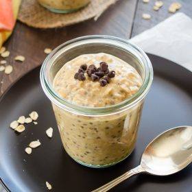 Pumpkin Chia Overnight Oats | flavorthemoments.com