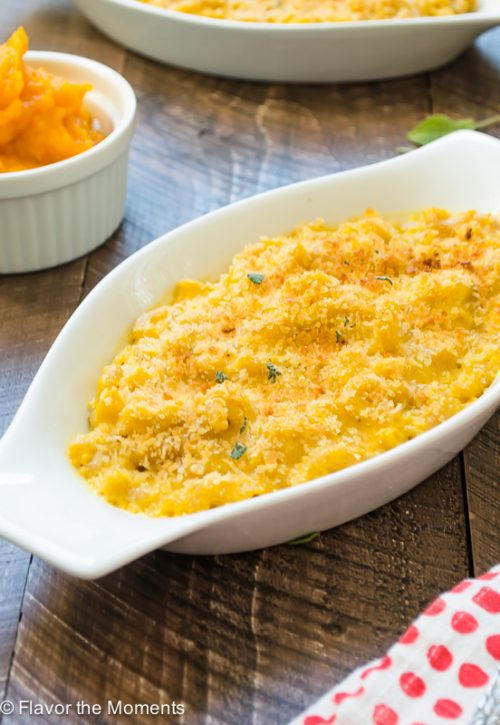 Butternut Squash Mac and Cheese | flavorthemoments.com