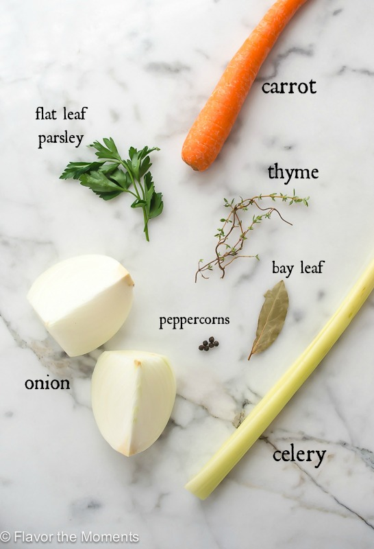 turkey stock ingredients