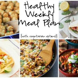 Healthy Weekly Meal Plan Collage 1.30.2016