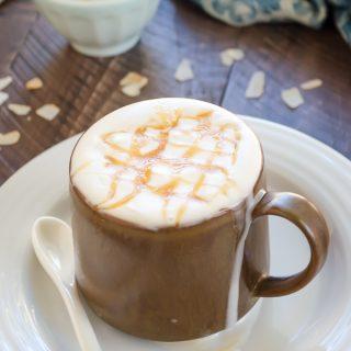 Coconut Caramel Macchiato