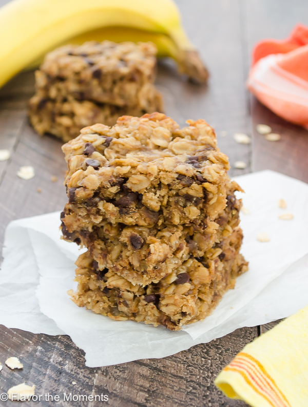 Peanut Butter And Banana Oat Cakes