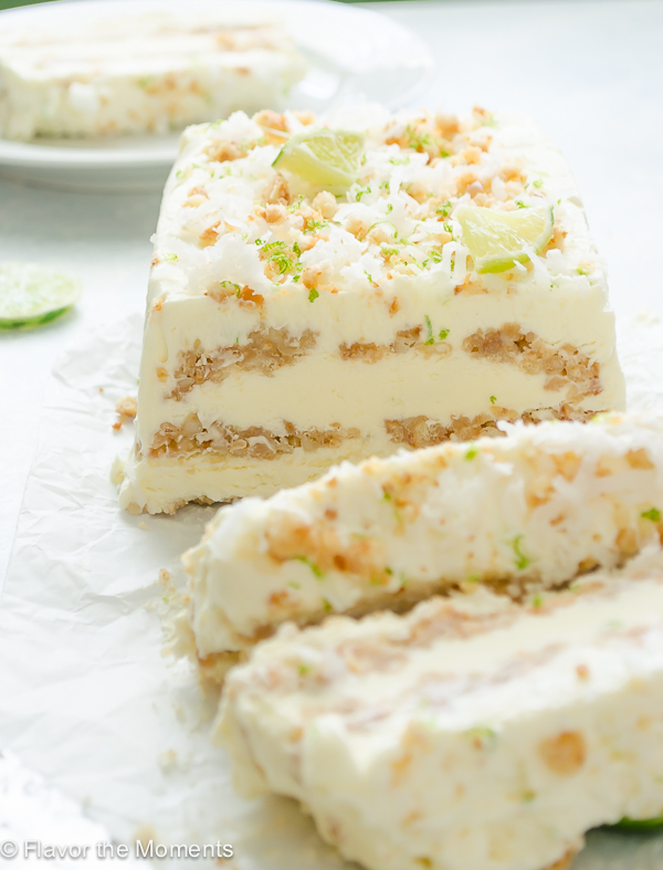 coconut-lime-ice-cream-loaf4 - Flavor the Moments