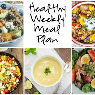 Healthy Weekly Meal Plan 8.27.2016
