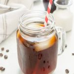 Cold Brew Coffee Recipe includes an easy step-by-step tutorial on how to make fresh, smooth iced coffee with no special equipment required! @FlavortheMoment