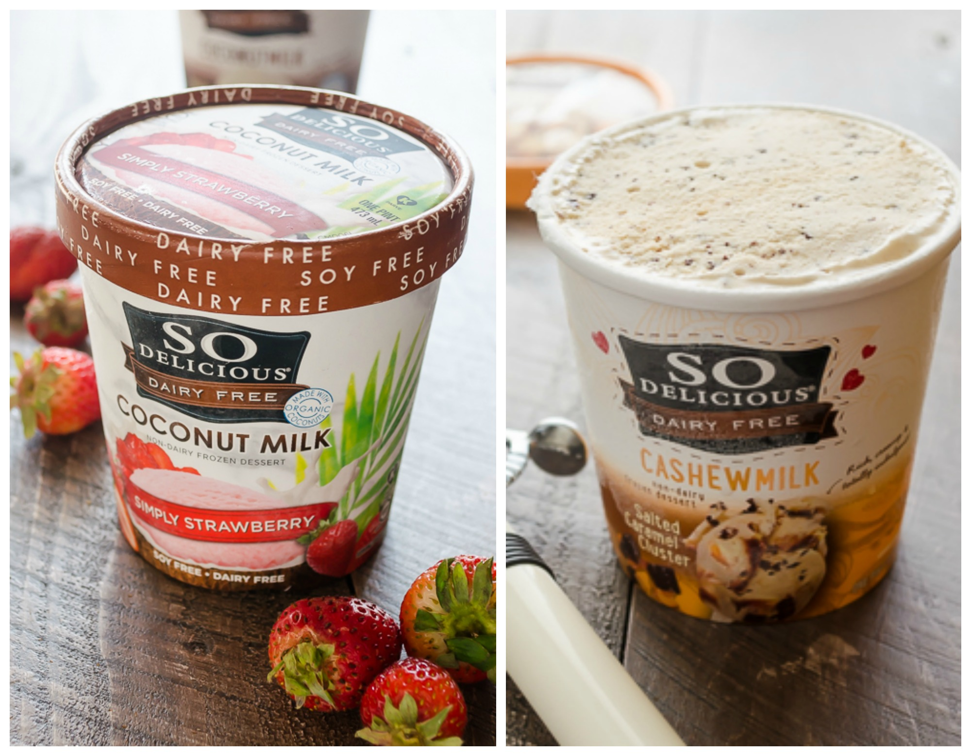 Don't forget, you can find great dairy-free selections in the frozen section, too, from coconut- and rice-milk ice creams to cheese-free pizzas. As always, product ingredients can change without notice, so be sure to check the label every time you purchase a product.