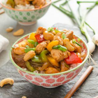 30-Minute Skinny Cashew Chicken