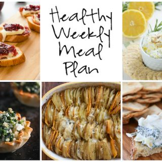 Healthy Weekly Meal Plan 12.24.2016