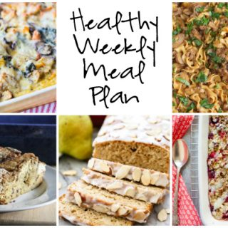 Healthy Weekly Meal Plan 12.17.2016