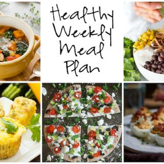 Healthy Weekly Meal Plan 1.7.2017