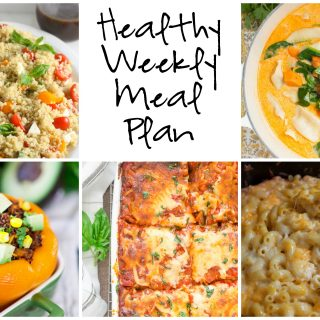 Healthy Weekly Meal Plan 2.11.2017