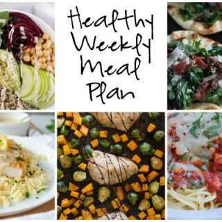 Healthy Weekly Meal Plan 2.18.2017