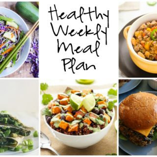 Healthy Weekly Meal Plan 2.25.2017