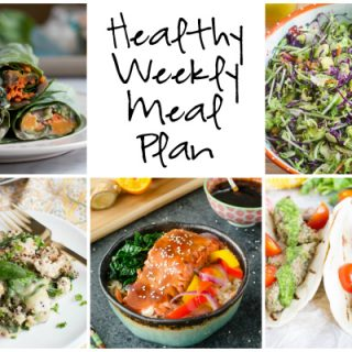 Healthy Weekly Meal Plan 2.4.2017