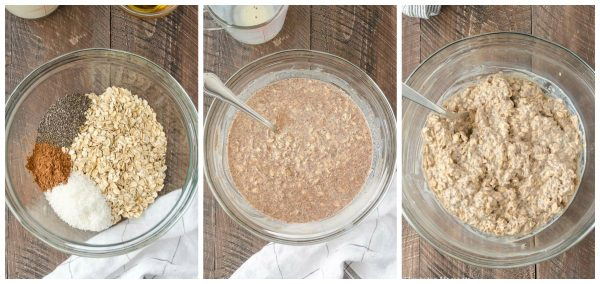 How to make german chocolate overnight oats