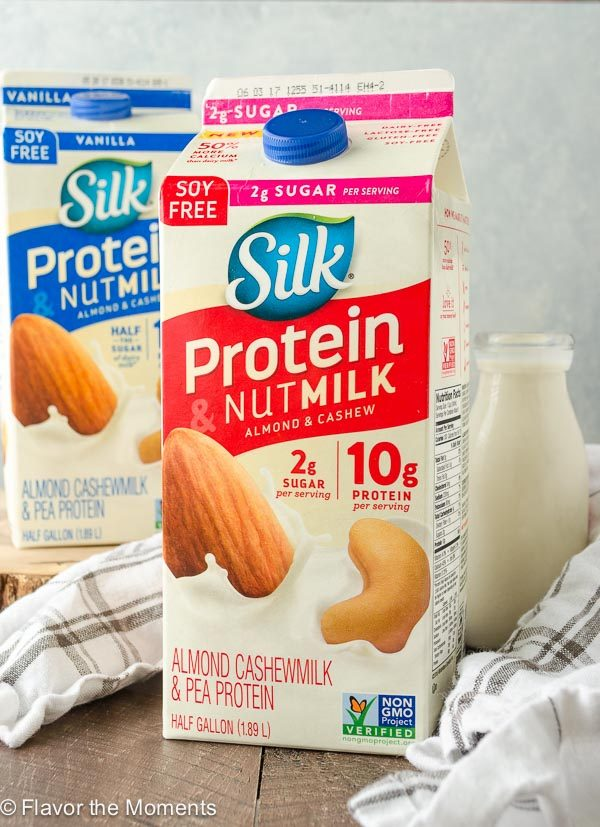 Silk 2g Sugar Protein & Nutmilk Almond Cashewmilk & Pea Protein