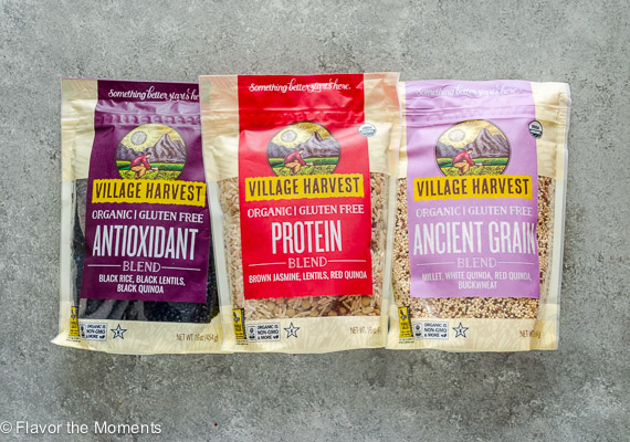 Village Harvest Organic Benefit Blends