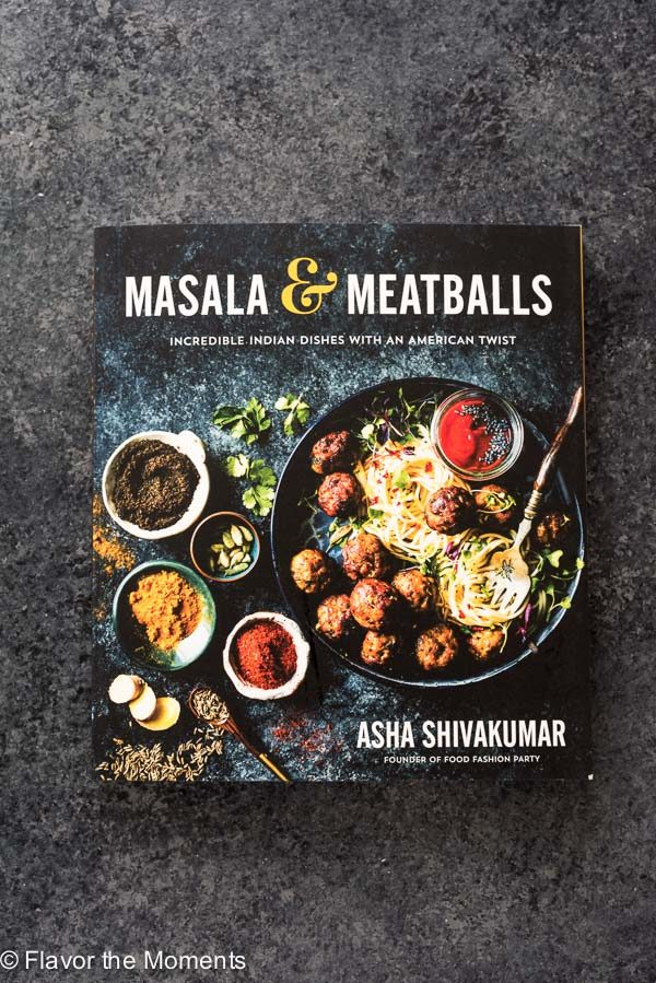 Masala and Meatballs cookbook
