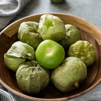 Produce of the Month Guide: Tomatillos is an informative guide on tomatillos with a round up of 27 delicious recipes!