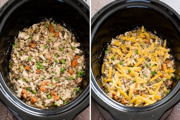 Wild Rice and Chicken in a Crockpot - Floating Leaf Fine Foods